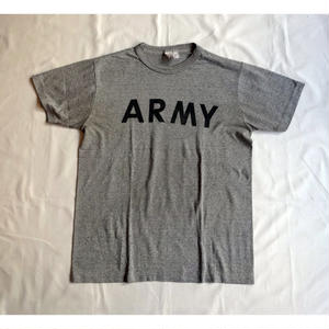 USED (古着)U.S.ARMY Tシャツ(ヘザーグレー)