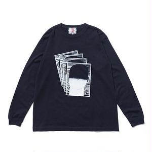 SON OF THE CHEESE | FACE commu sleeve(NAVY)