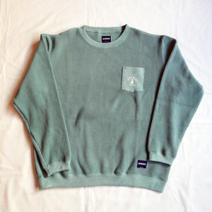 """COCOLO Bland / Oh!theGuilt """"POCKET WAFFLE CREW""""(グリーン)"""