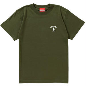 COCOLO BLAND / BACK BONG S/S TEE (OLIVE)