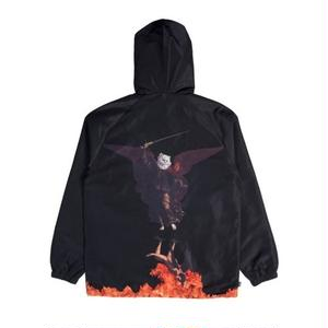 RIPNDIP | HELL PIT HOODED COACH JACKET (BLACK)
