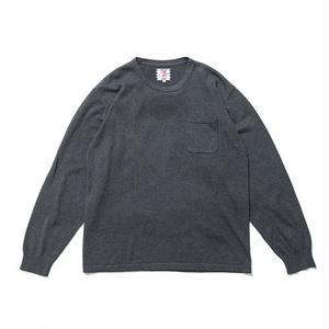SON OF THE CHEESE | C100 long sleeve(GRAY)
