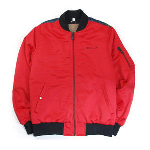 "HUF /  "" SPACE RACE MA-1 JACKET "" (RED )"