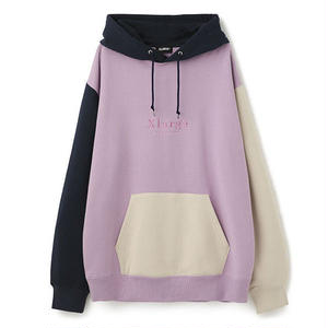 XLARGE® | COLOR PULLOVER HOODED SWEAT(ライトパープル)