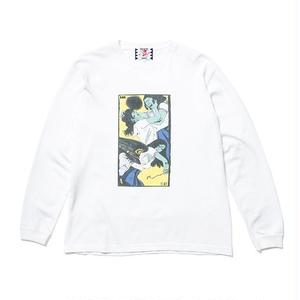 SON OF THE CHEESE | Face long shirt(WHITE)