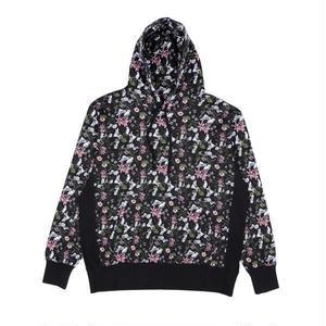 RIPNDIP | Nerm Flower Pattern Hoodie (Black)