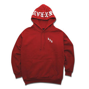 BORN X RAISED / PULLOVER HOODY (BURGUNDY)