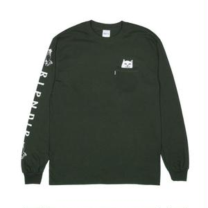 RIPNDIP | Lord Nermal Pocket L/S (Hunter Green)