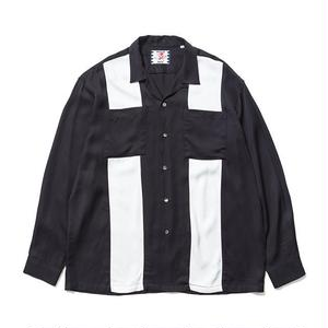 SON OF THE CHEESE | bowling shirt(BLACK)