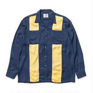 SON OF THE CHEESE | bowling shirt(NAVY)