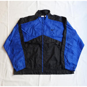 USED(古着)NIKE 90年代ナイロンジャケット(ブラック/ブルー)