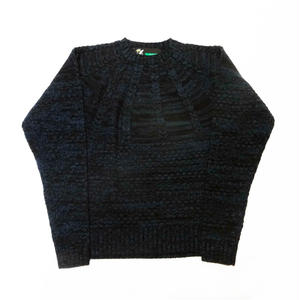 FAT | CABLE SWEATER (MIX NAVY)