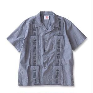 SON OF THE CHEESE | kanji cuba shirts(BLACK)