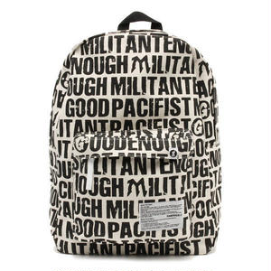 FABRICK×GOODENOUGH×MILITANTPACIFIST  BACKPACK
