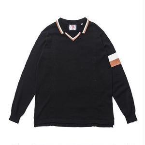 SON OF THE CHEESE | FC-C100 knit (BLACK)