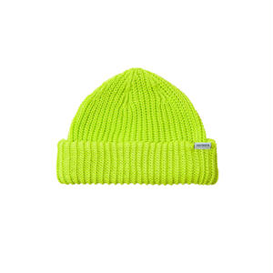 Tightbooth / SHORT KNIT CAP(Neon Yellow)