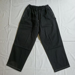 Oh!theGuilt : TWILL  RELAX PANTⅡ(ブラック)