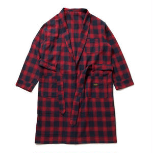430 | CHECK SHIRTS COAT (RED)