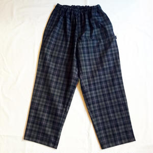 Oh!theGuilt : PLAID  RELAX PANTⅡ(グレー/ブラック/ピンク)