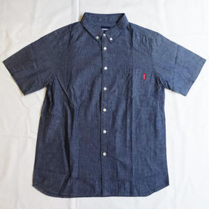 Oh!theGuilt:S/S CHAMBRAY BD SHIRT(インディゴ)