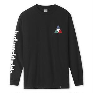 HUF / PRISM TT L/S TEE (BLACK)