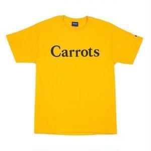 CARROTS CHAMOMILE | LOGO T-SHIRT(GOLD)
