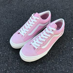 VANS | STYLE 36 (Suede) Coral/Marshmallow