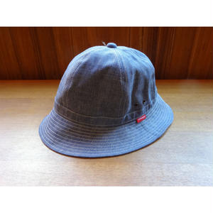 Oh!theGuilt : HAND MADE CHAMBRAY DENIM BALL HAT by BROWNIE HOME MADE(ライトインディゴ)