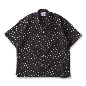 SON OF THE CHEESE | rain dot shirts(BLACK)