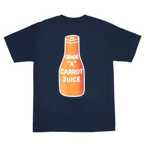 CARROTS | CARROT JUICE T-SHIRT(NAVY)