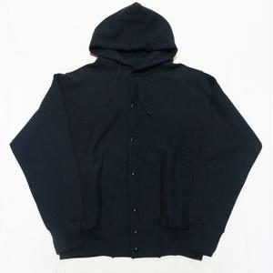 CHAMPION | REVERSE WEAVE SNAP HOOD JACKET(MADE IN USA ネイビー)