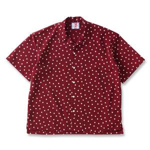 SON OF THE CHEESE | rain dot shirts(WINE)