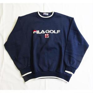 USED(古着)FILA GOLF セーター(ネイビー)