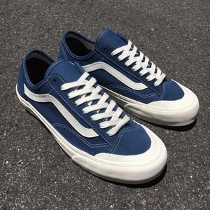 VANS | Style36 Decon SF (Salt Wash)Dark Denim / Marshmallow