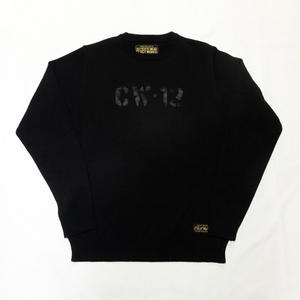 CLUCT CW13 KNIT TOP(ブラック)