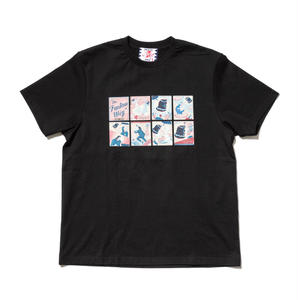 SON OF THE CHEESE | Fantom Wig TEE (BLACK)