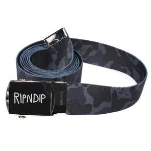 RIPNDIP | Nerm Camo Web Belt (Blackout Camo)
