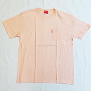 Oh!theGuilt | BASIC POCKET  S/S T-SHIRT(アプリコット)
