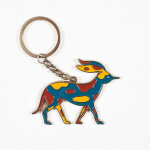 by Parra | key chain retired racer (multi)