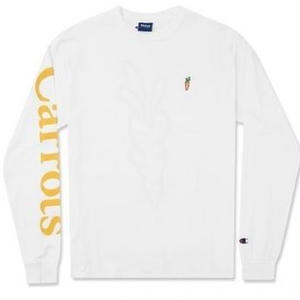 CARROTS CHAMOMILE | L/S(WHITE/GOLD)