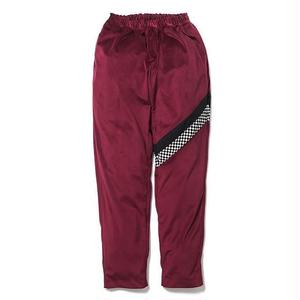SON OF THE CHEESE | check Jersey pants(WINE)