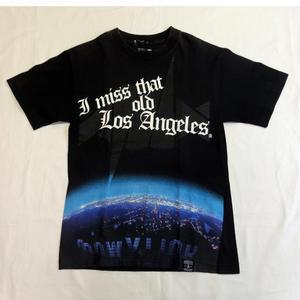 USED (古着)DISSIZIT/RECON Tシャツ(ブラック)