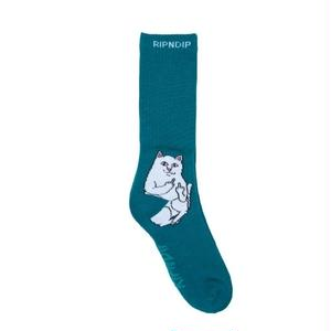 RIPNDIP | LORD NERMAL SOCKS(AQUA)