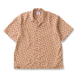 SON OF THE CHEESE | rain dot shirts(BEIGE)