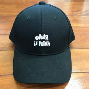 "Oh!theGuilt : ""ohtg is high"" 6P SNAP BACK CAP (ブラック)"