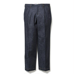 SON OF THE CHEESE | wide tack pants (BLUE)