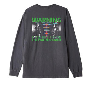OBEY | Warning Basic Pigment Long Sleeve Tee
