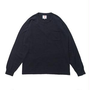 SON OF THE CHEESE | C100 long sleeve(NAVY)