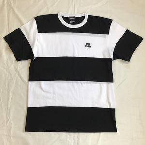 "Oh!theGuilt :""ohtg is high""  BORDER S/S T-SHIRT(ブラック/ホワイト)"