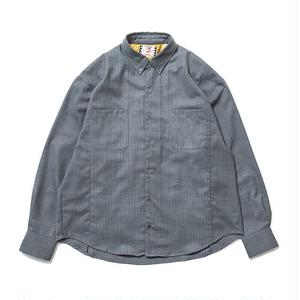 SON OF THE CHEESE | Two tone shirt(GRAY)
